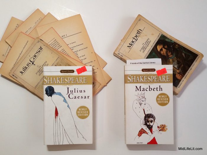 Books: Julius Caesar and Macbeth