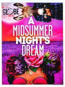 Globe for All A Midsummer Night's Dream program cover