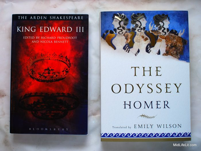 King Edward III and The Odyssey in paperback