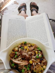 Lunch and a good book