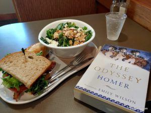 Lunch and Homer's The Odyssey