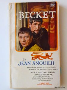 """Becket"" by Jean Anouilh"