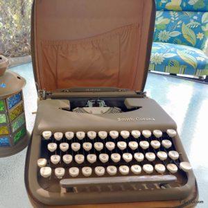 Smith-Corona Skyriter typewriter