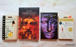 Titus Andronicus and Julius Caesar books