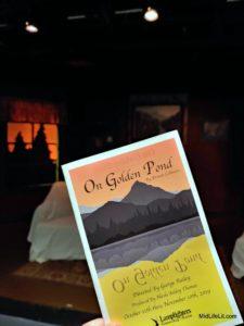 """""""On Golden Pond"""" program cover"""