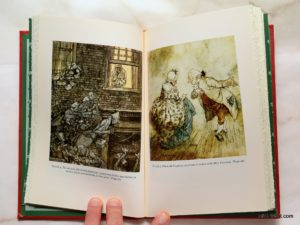 Arthur Rackham illustrations in A Christmas Carol