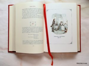 Interior of Great Expectations with illustration by F.W. Pailthrope