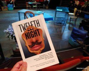 """Twelfth Night"" program cover"