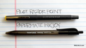 InkJoy and Razor Point