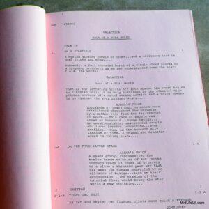 """Battlestar Galactica"" script"