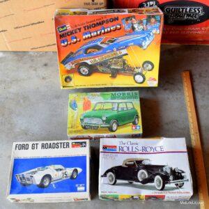 various model car kits