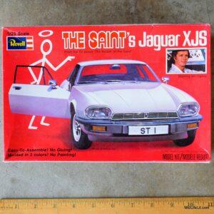 The Saint's Jaguar XJS model car kit by Revell