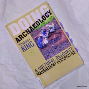 Book cover: Doing Archaeology by Thomas F. King